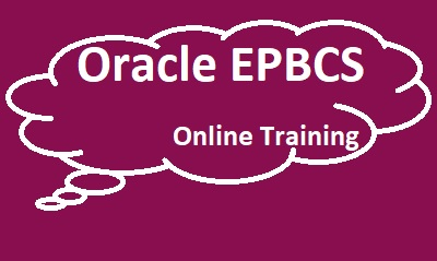 Oracle EPBCS Online Training