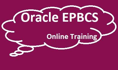 Oracle EPBCS Online Training